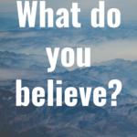 Beliefs  By Cathy Fyffe